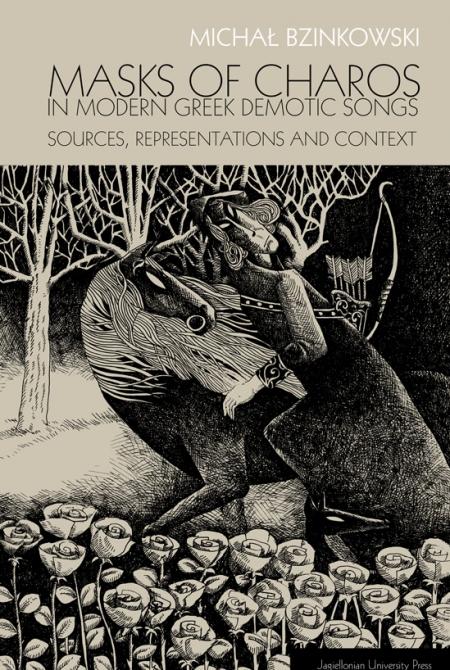 Okładka książki Michał Bzinkowski Masks of Charos